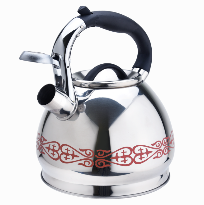 Stainless Steel Colorful Stovetop Tea Kettle 423