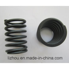 Big Wire Compression Spring with Blackening Surface Treatment