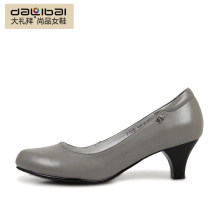 High heel elegant colorful women working office shoes