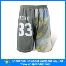 Wholesale Gym Clothing Mens Fleece Stylish Sublimation Golf Shorts