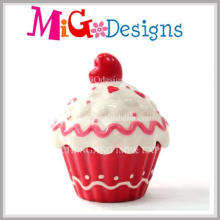 Low Price Cup Cake Ceramic Arts From Factory Coin Box
