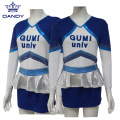 Benutzerdefinierte Strass Cheerleading Uniformen