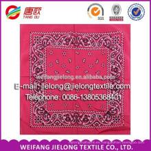 Bufanda 2015 del motorista del algodón de la manera / pañuelo cuadrado / pañuelo de Paisley proveedor de China
