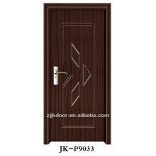 best price for pvc wooden skin door