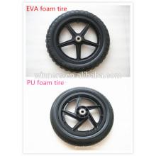 10 12 14 16 pouces pneu en mousse légère pour bébé voiture
