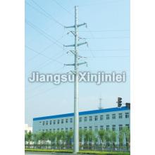 35kV Double Circuit Steel Poles