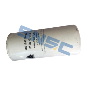 sinotruck howo parts fuel filter HG1242080092