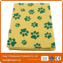Best Selling Needle Punched Nonwoven Fabric Pet Cleaning Towel