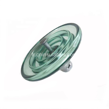 Isolateur de suspension Glass Disc Insulator