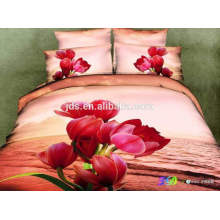 best price. 3D polyester bed sheet sets