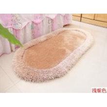 Langer Pile Silk Plain Polyester Shaggy Teppich und Teppich