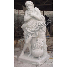 Carved Granite Stone Marble Statue for Garden Decoration (SY-X1377)