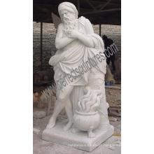 Esculpida granito pedra mármore estátua para decoração de jardim (sy-x1377)