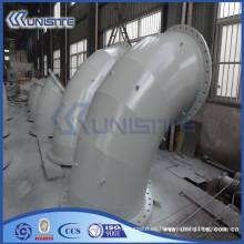 Personalizado de alta presión de doble pared de tubería de acero al carbono para la draga (USC6-003)