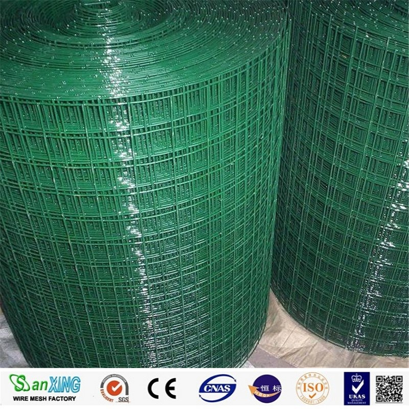 pvc coated weded wire mesh in roll