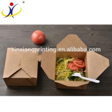 Les pâtes jetables imprimées par coutume enlèvent la boîte à lunch de boîte de nouille de boîtes de nourriture