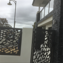 Laser Cut Fence Panels Design