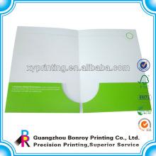 Customized a4 size foldable handmade paper decorative file folders