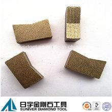 Mehrschichtige Diamantsegment für einzelne schneiden Granit niedrigen Preis