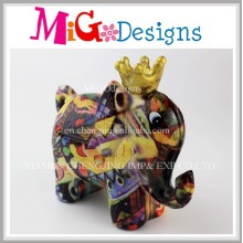 2017 Lovely Elephant Design Custom Money Box