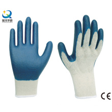 Latex Palm Coated, Smooth Finish Safety Gloves