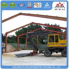 China supplier credible glass wool insulation prefab factory building