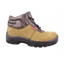 Fábrica de China de alta calidad PU / Leather Worker Zapatos de seguridad industrial