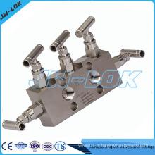 Válvula de válvula de 5 vias de alta pressão direta de fábrica