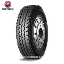 China califica las 10 mejores marcas de neumáticos Neoterra NT599 315 / 80R22.5 buena calidad de neumáticos para camiones