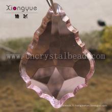 feuille d'érable de lustre partie scrystal perle de forme