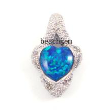 Bijoux-Nice créé opale Bijoux pendentif (YP00086)