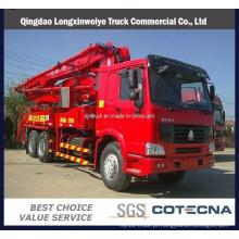 Caminhão da bomba concreta do caminhão da bomba concreta / HOWO 38m 6xr4