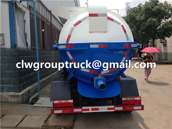 Food Collecting Compactor Garbage Truck