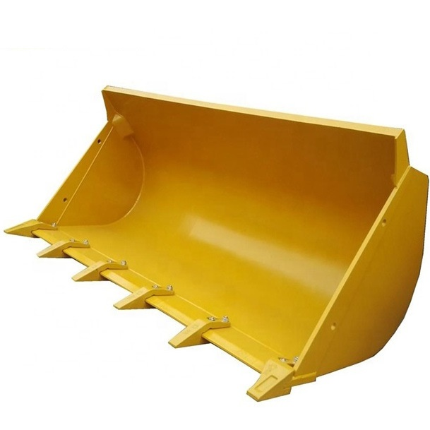 Rock Stone Bucket 252110032 3 Cubic Meter For Xcmg Zl50g Wheel Loader Spare Parts