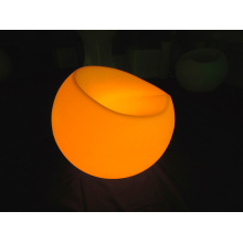 Night Club Furniture Plastic Rechargeable LED Apple Sofa (G007)