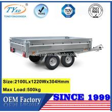 custom 7x4 aluminum open utility trailers