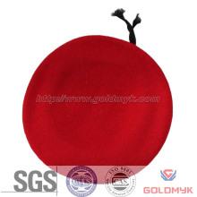 Boinas militares de lã vermelha (GKM05-Q0040)