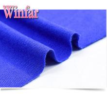 Tecido de viscose elastano de jersey de tintura sólida sólida