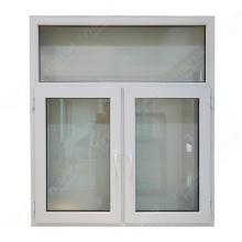 Fenêtre à battant ronde en PVC / fenêtre à battant cintrée