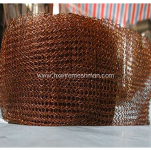 Knitted Copper Wire Mesh
