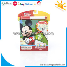 Mickey Mouse Dri Erase Book