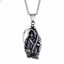 Sickle To The Men Death 316 Stainless Steel Jewelry Pendants