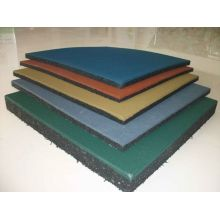 Durable Sport EPDM Gym Rubber Flooring Outdoor Digunakan