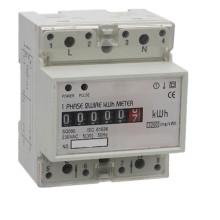 Medidor monofásico de Watt-Hour de trilho DIN com display digital LCD