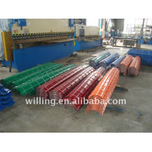 prepainted steel ridge cap sheet/ridge cap sheet