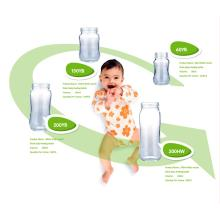 Hohe Borosilikatglas-Baby-Fütterungsflasche 60ml-240ml. BPA frei