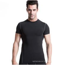 Camiseta de manga corta deportiva para hombres Entrenamientos intensos Sudor rápido