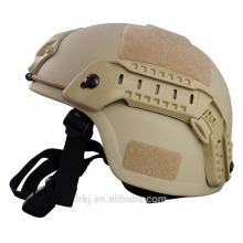 peso leve kevlar militar à prova de balas nível 3a capacete balístico