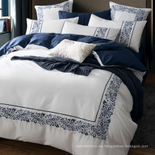 100% cotton long stapled cotton hotel bedding set/Egyptian cotton hotel bedding sets