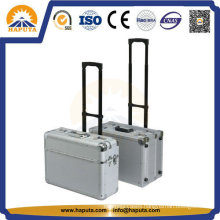 Aluminum Customized Flight Travel Trolley Case (HP-3201)